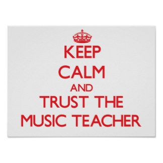 Music Education Posters Prints