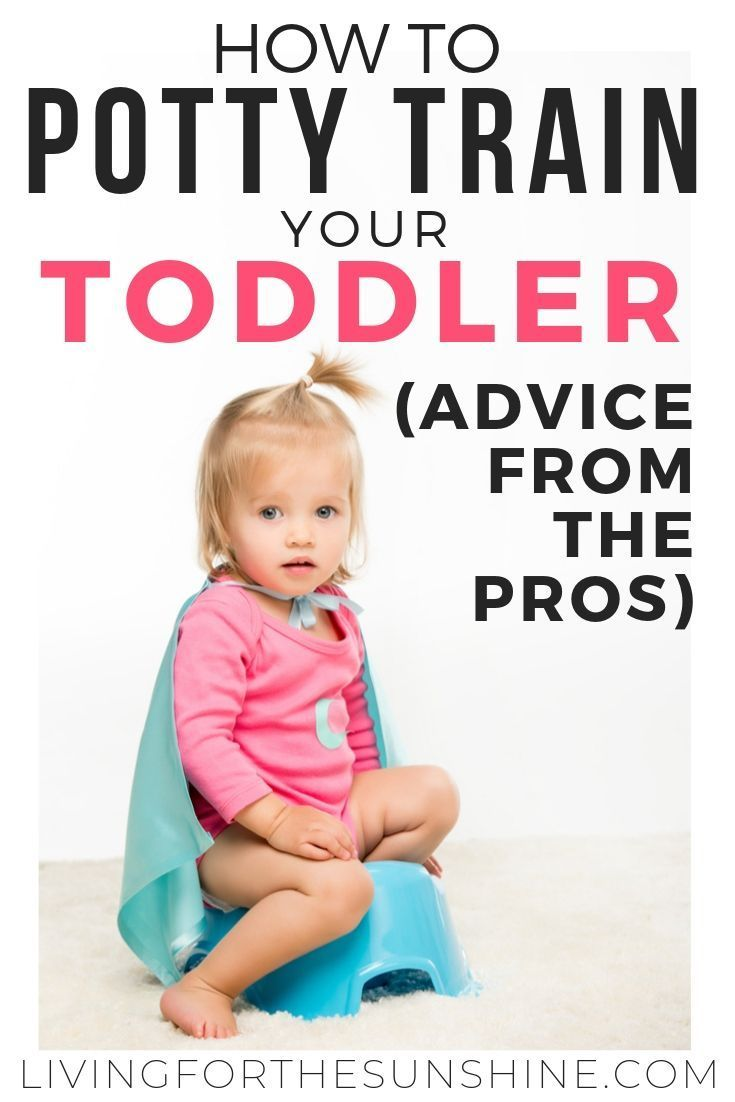Potty-Training Hacks and Tips from Child Care Professionals - Living For the Sunshine