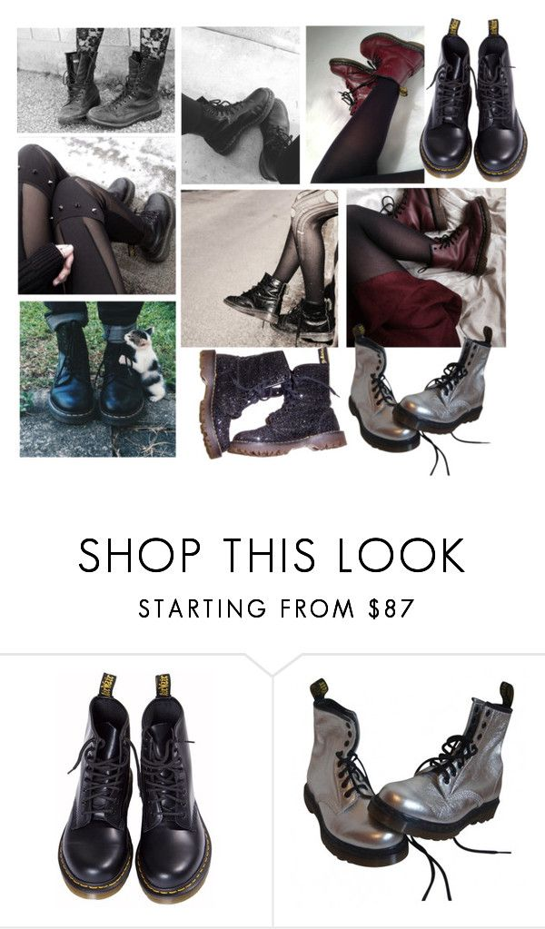 """""""//combatbootsaremyaesthetic//"""" by macxieloves ❤ liked on Polyvore featuring beauty, ...Lost and Dr. Martens"""