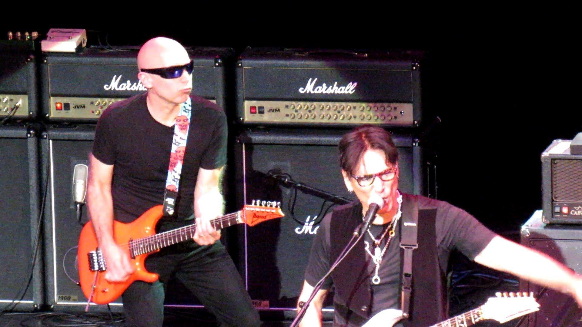 Joe Satriani, Steve Vai, Brendon Small, Tosin Abasi G4 2015 Frank Zappa ...