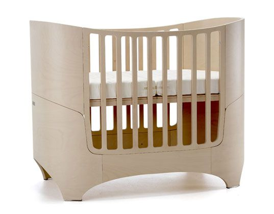 Convertible Baby Furniture Crib Eco Kids Friendly Green Leander Bed