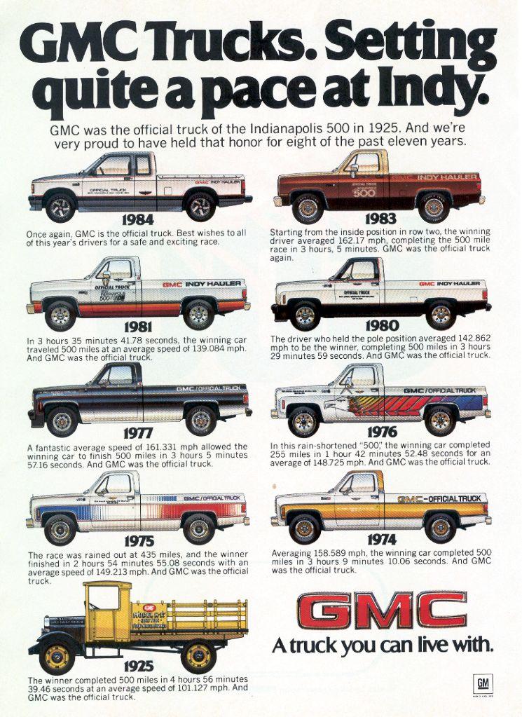 Just A Car Guy 1980 Gmc Indy Hauler Truck Gmc Trucks Chevy