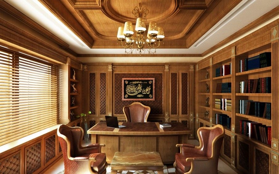 Fabulous Classic Office for Best Office Look : Extravagant Classic