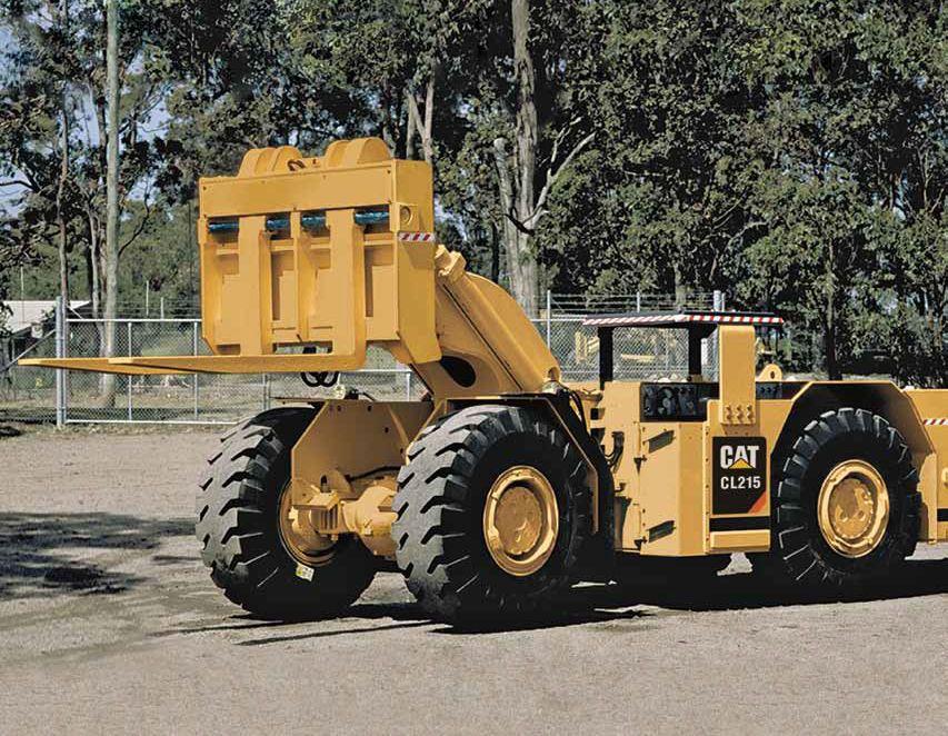 Cat CL215 Fork Loader Heavy equipment, Caterpillar