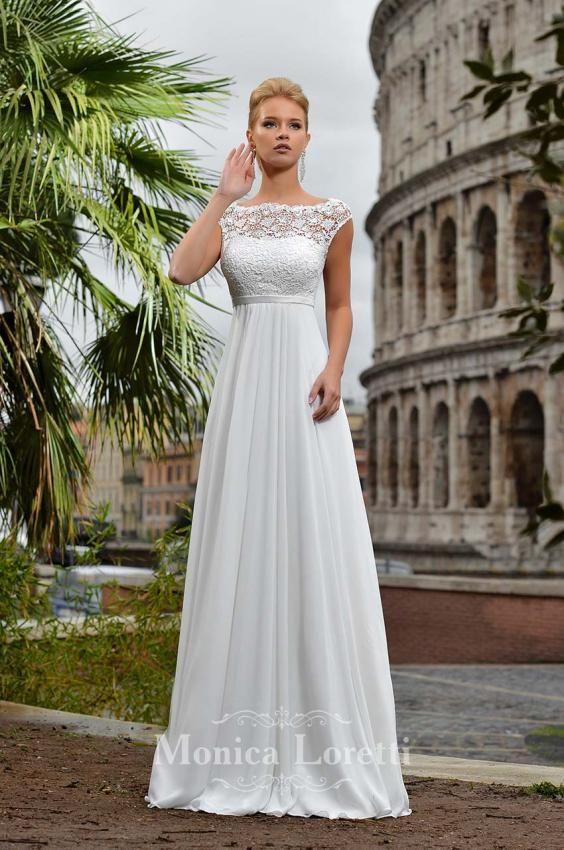 71337412025 MONICA LORETTI - Svatební salon CAXA.cz - Největší svatební centrum na  Moravě Undina krémová 42 půjčovné 7500 Kč