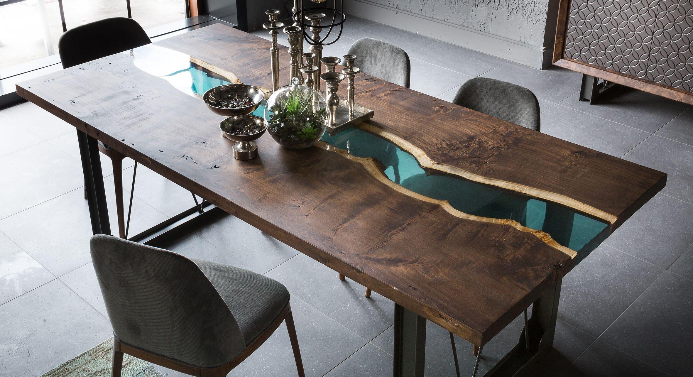 Gesd mobilya masaif ah ap epoksi masa benimi inya am for Mobilya design
