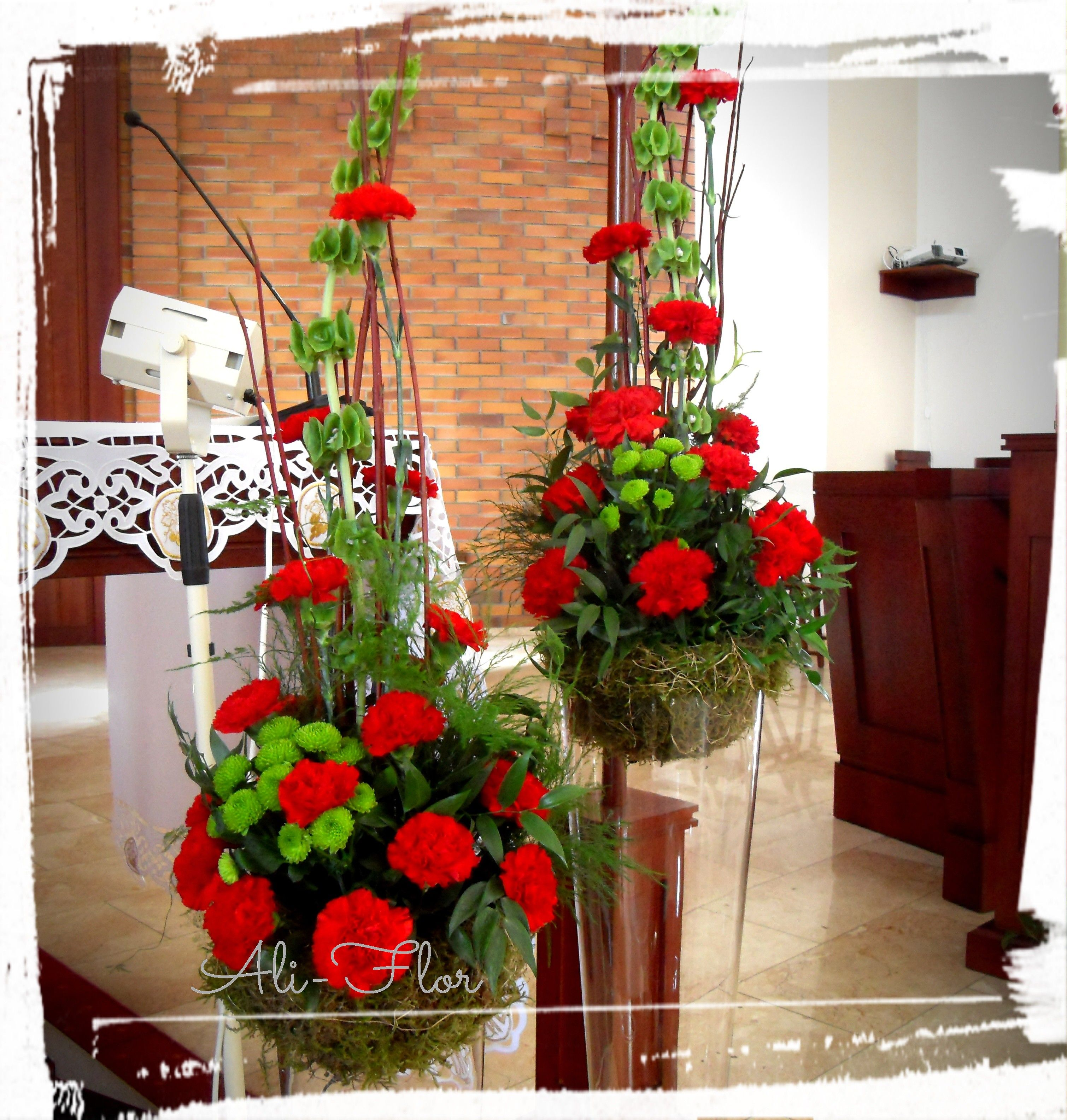 Dekoracja Oltarza Rose Flower Arrangements Hotel Flowers Contemporary Flower Arrangements