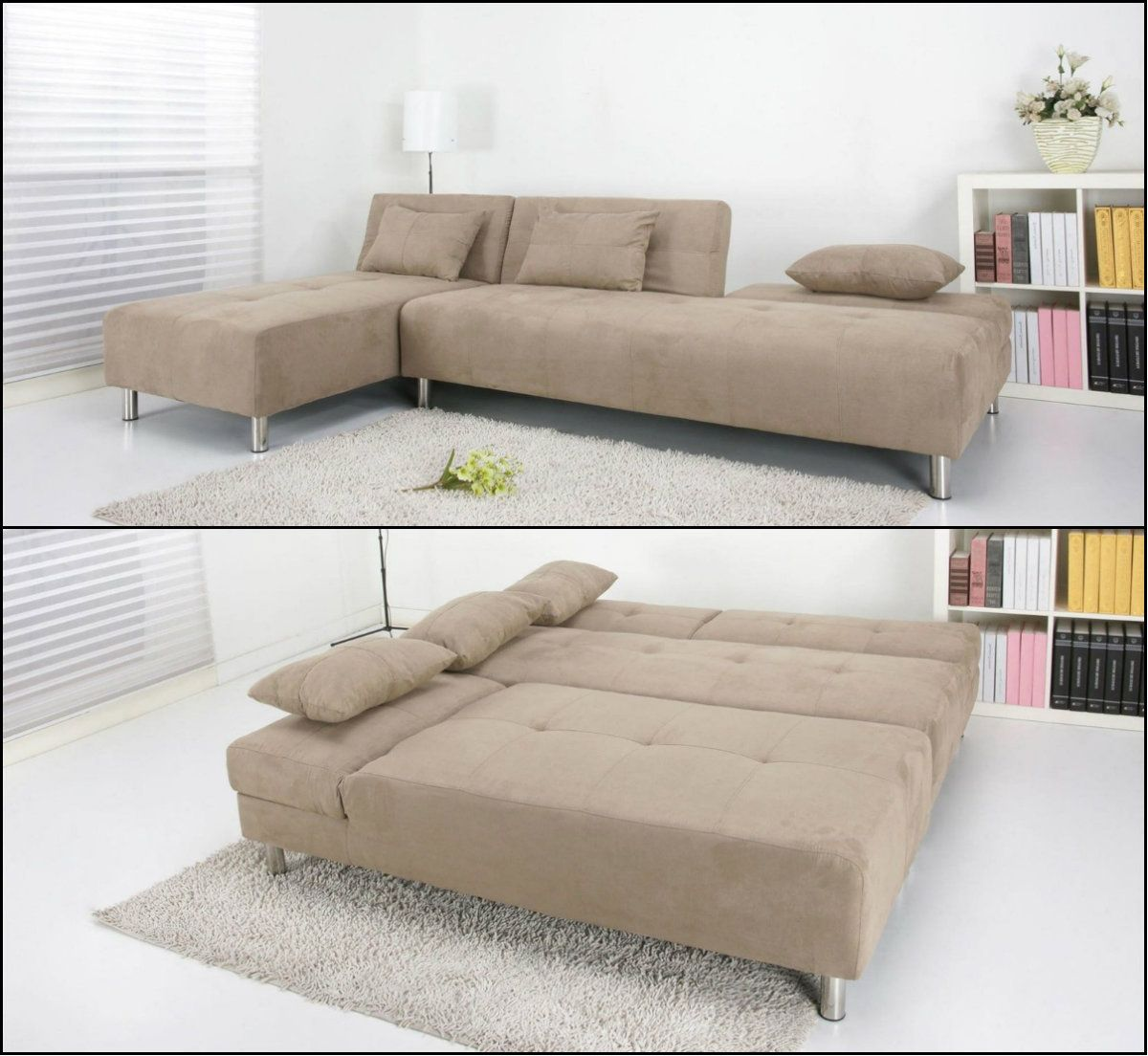 Living Spaces · This Modern Multi Functional Sectional Sofa Bed Has  Contemporary Touches In Its Design Coupled With