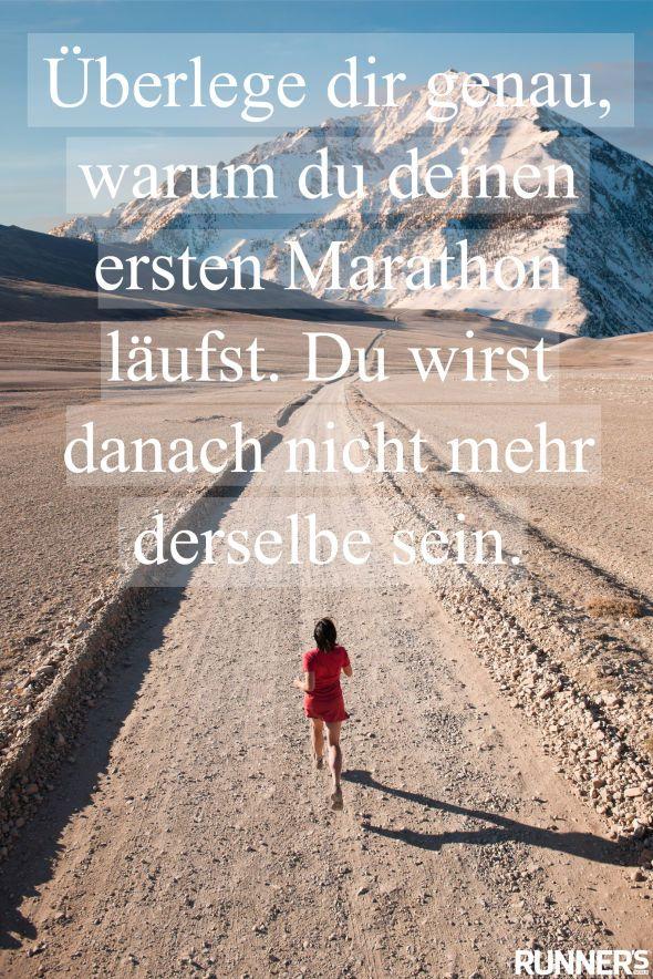 Die besten Motivationssprüche | Running | Marathon running