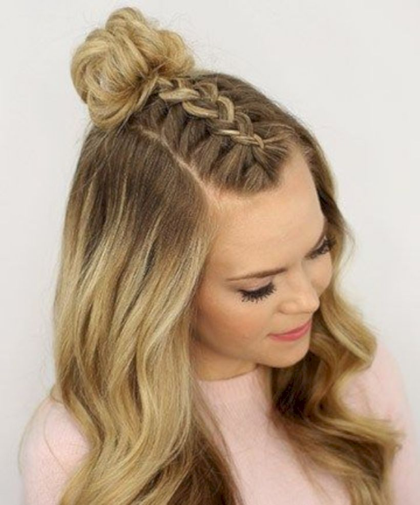 cute hairstyles ideas for teen haar styl pinterest teen