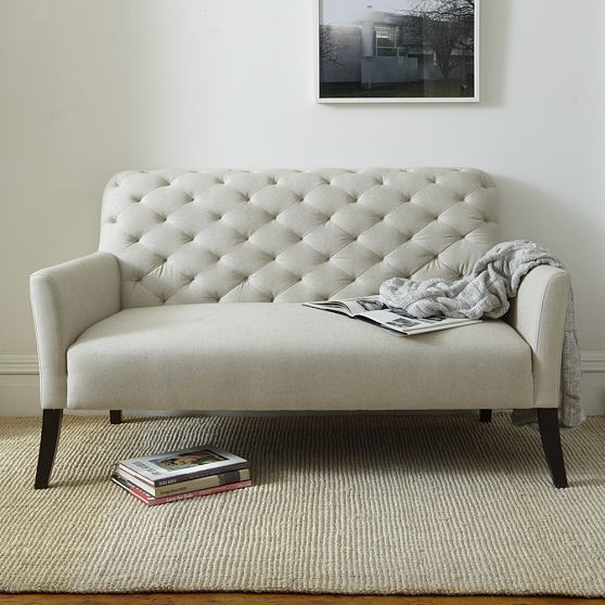 Cute Couch For A Small E Home Inspiration Settee