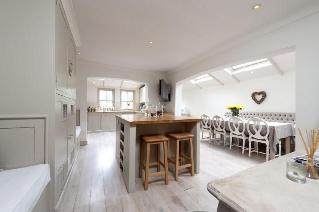 Modern Country Style SwedishFrench Style Victorian House Tour - Victorian kitchen extension design ideas