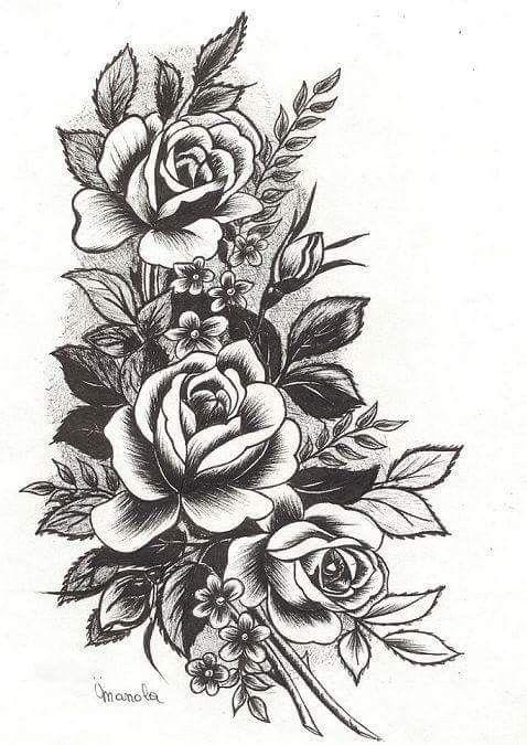 Pin By Sharon Gonzalez On Tattoos Rose Tattoo Sleeve Rose Tattoos Tattoos