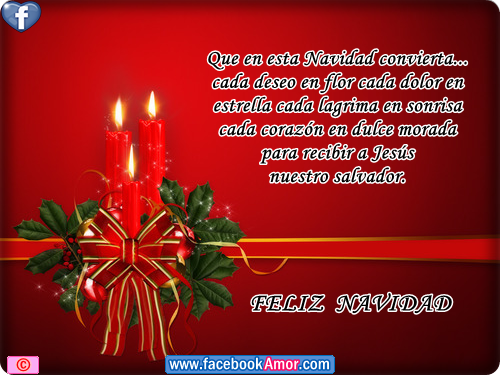 Feliz Navidad Imagenes Bonitas Para Facebook Amor Y Amistad ...