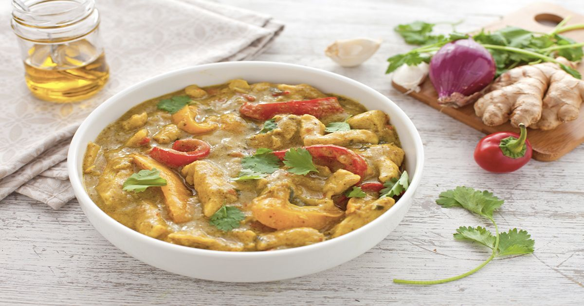Photo of Chicken curry with peppers and ginger – Video recipe by Il …