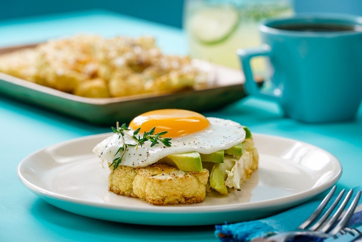 receta de horneado de huevo con dieta keto