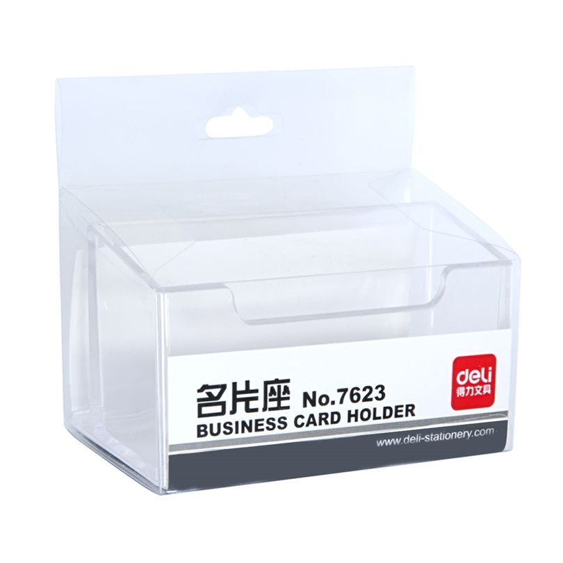 Business Name Credit ID Card Holder Note Holders Pocket Case ...