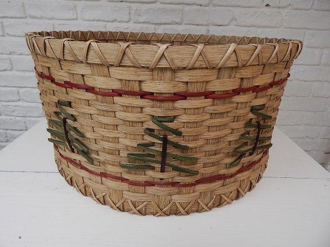 Christmas Tree Basket - Baskets by Emily Basket Making Pinterest