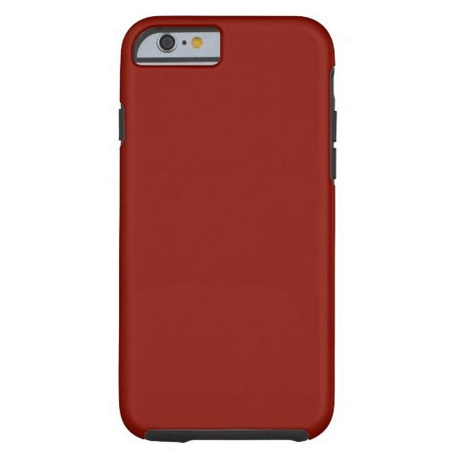 Solid Indian Red iPhone 6 Case