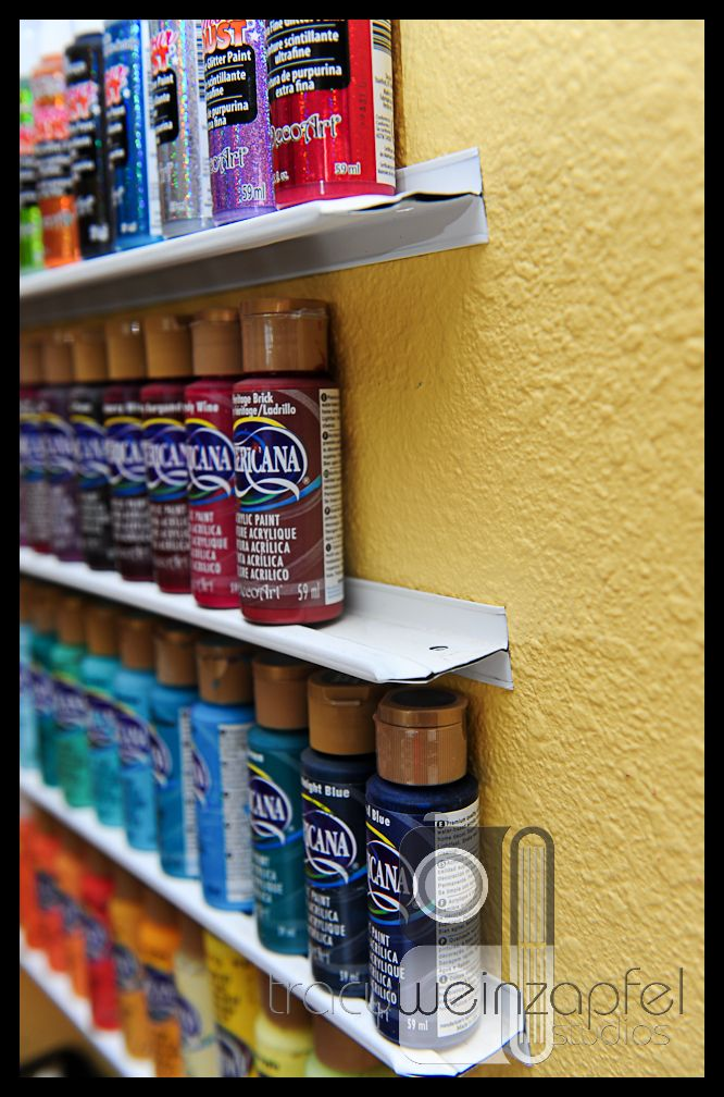 Craft Paint Storage Ideas Sugar Bee Crafts Craft Paint Storage