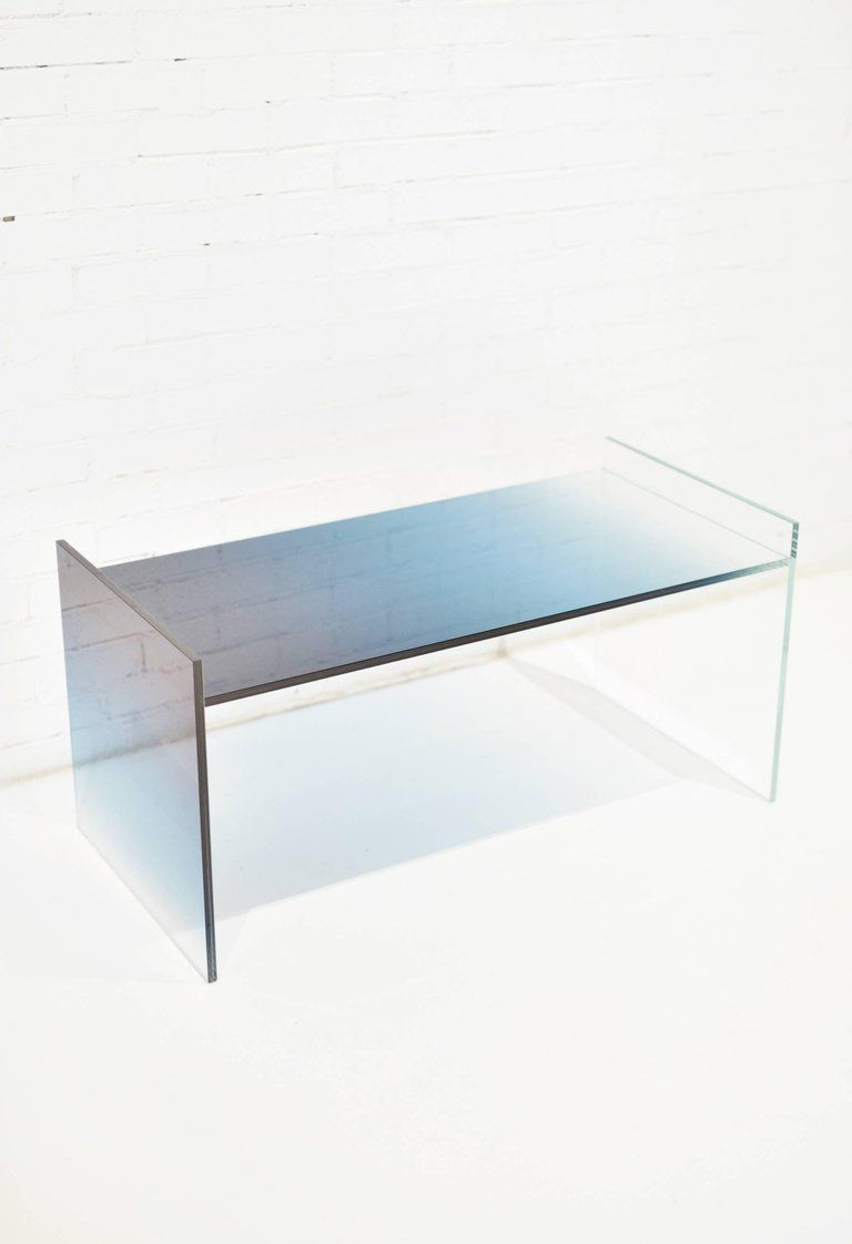 Not So General Gallery In Los Angeles Is Proud To Present The Ombre Glass Coffee Table Low Amsterdam Based Designer Coffee Table Furniture Glass Furniture [ 1122 x 768 Pixel ]