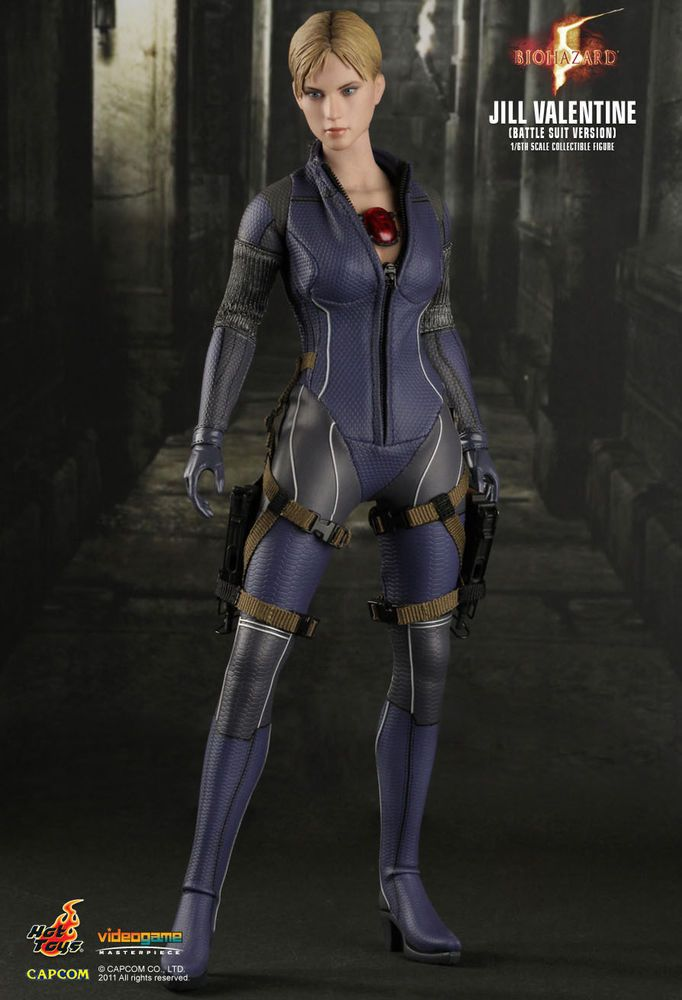 Hot Toys 1 6 Jill Valentine Battle Suit Resident Evil 5