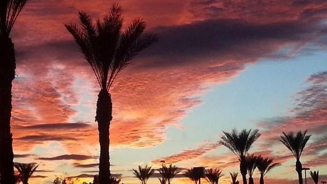 AZ Chandler December Sunset Breathtaking~