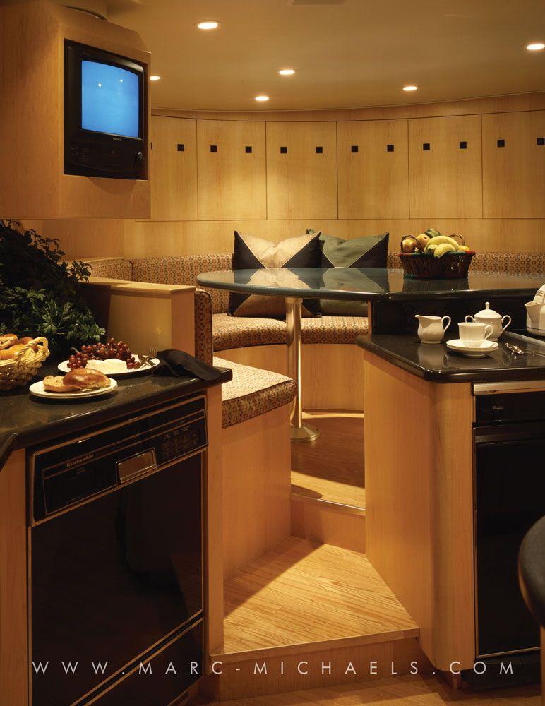 Luxury Kitchen Interior Design: Luxury Yacht Interior Design