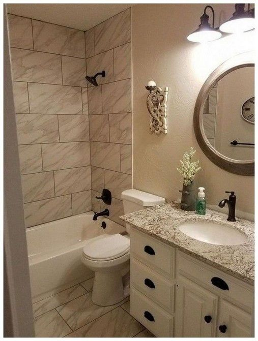20 Small Bathroom With A Design Idea That You Will Love Bathrooms Remodel Bathroom Remodel Master Bathroom Makeover