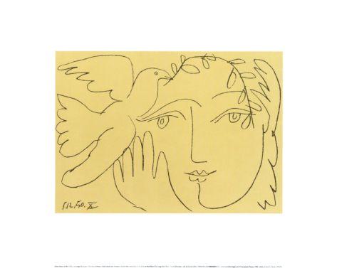 Visage de la Paix Print by Pablo Picasso at Art.com