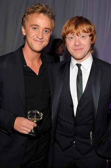 The Fug Girls On Which Celebrities Should Go To Which Shows During Spring 2012 Fashion Week Tom Felton Harry Potter Cast Harry Potter