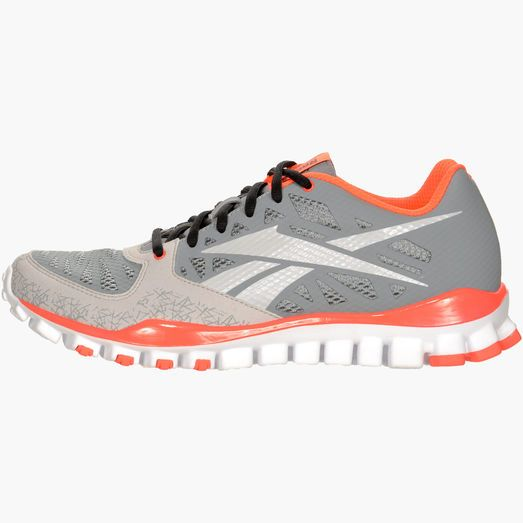 Mens Reebok RealFlex — New lifting shoes for my big feet ... and the coral color almost makes them a little girly!