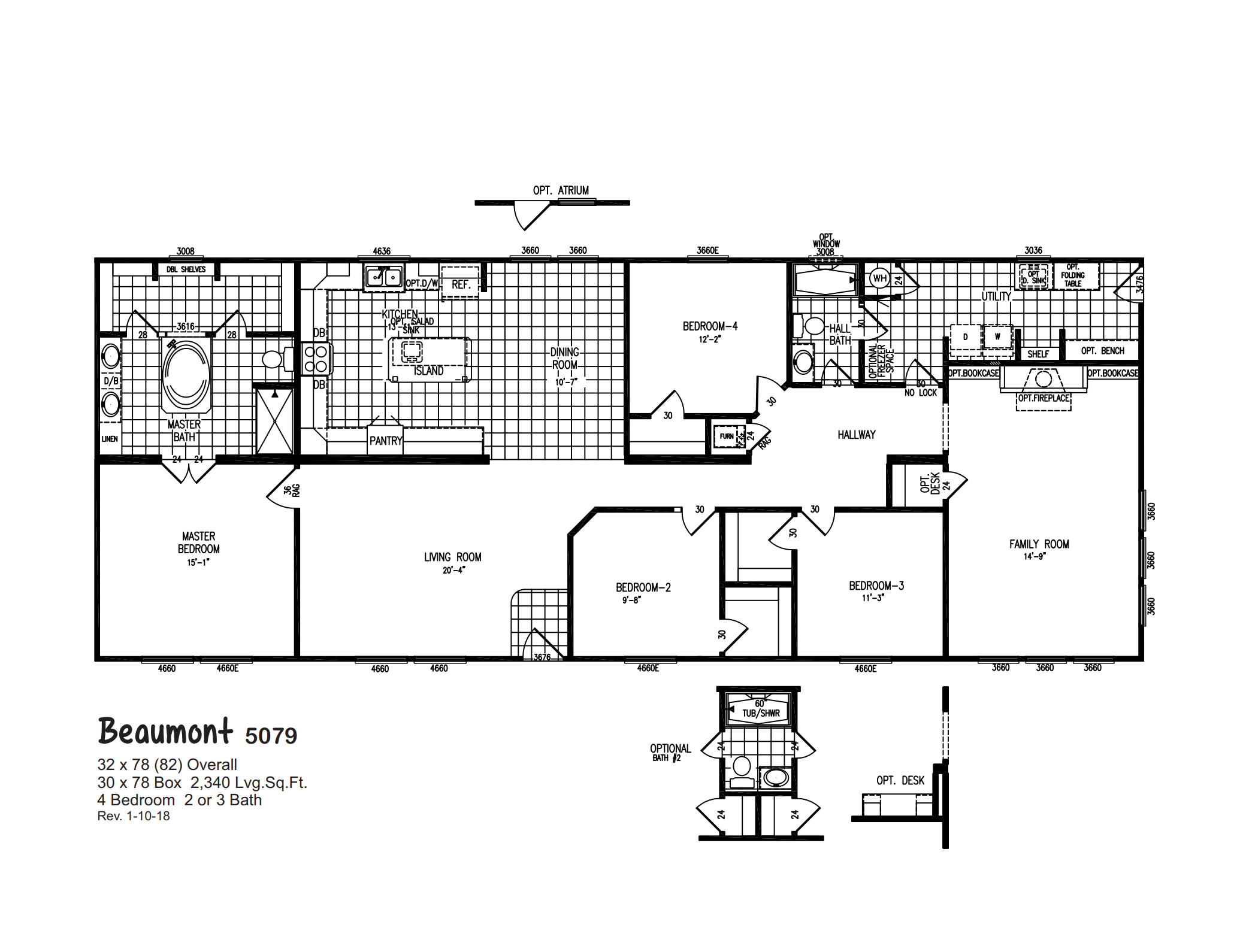 Beaumont 5079 Oak Creek Homes Modular Home Plans Modular Home Floor Plans Basement House Plans