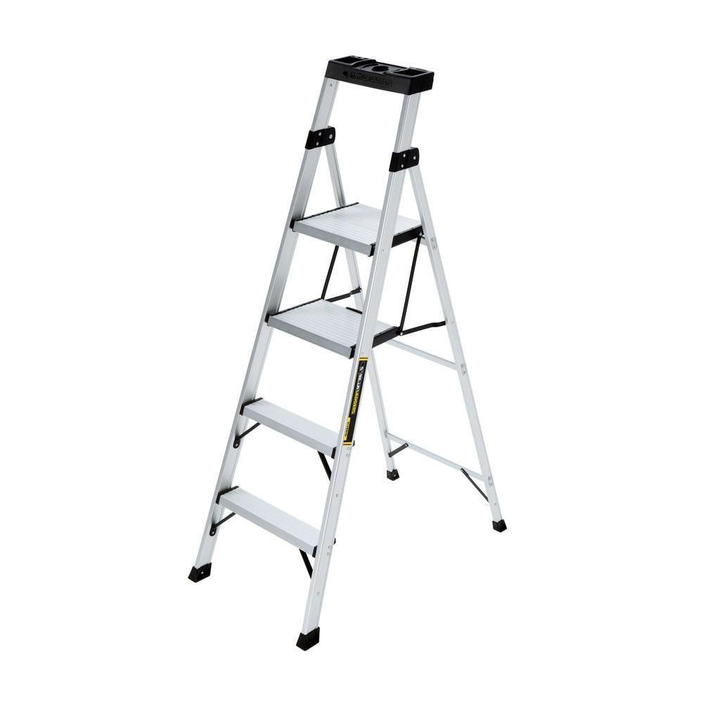 Platform Ladder Bunnings Step Ladder Home Multi Purpose Folding Aluminum Hybrid 250 Lb