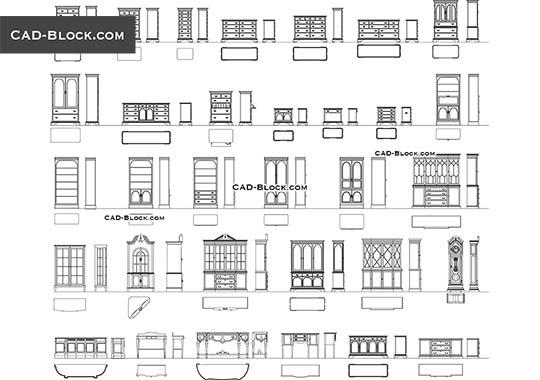 Classic Furniture Free Autocad Blocks Classic Furniture Interior Design Classes Interior Design Presentation