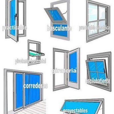 Sistemas aperturas 53173 materiles en 2019 pinterest for Tipos de ventanas de aluminio para banos