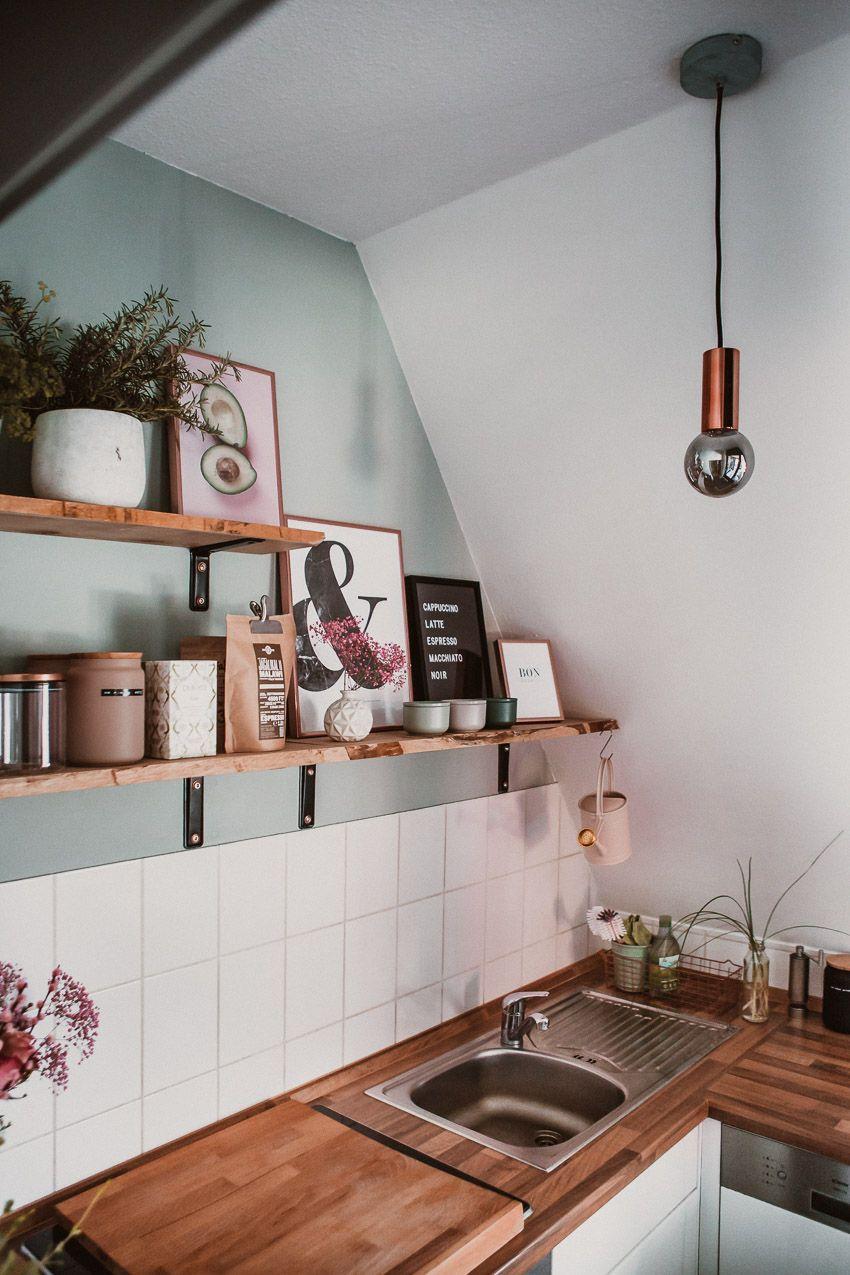 Photo of Kleine Küche neu gestalten – Rosegold & Marble