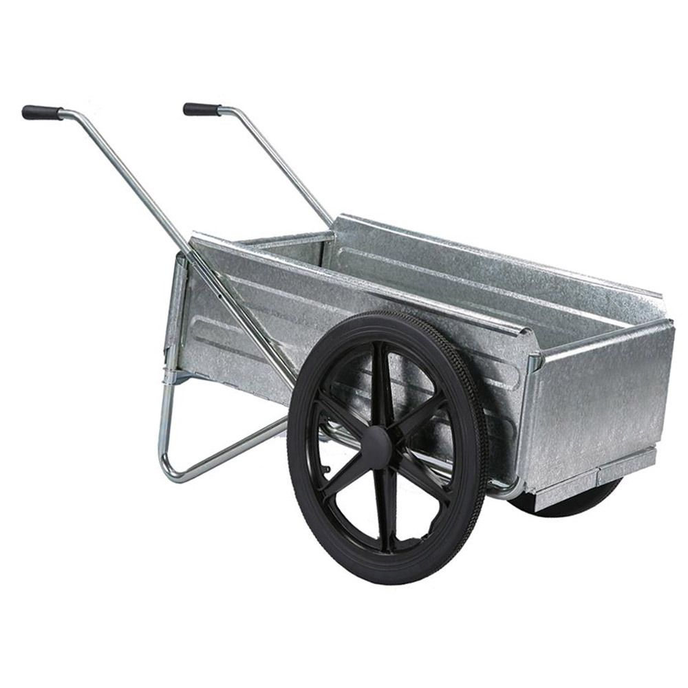 Mighty Mule Folding Portable Wheelbarrow Utility Cart Just Pro Tools Wheelbarrow Portable Garden Utility Cart