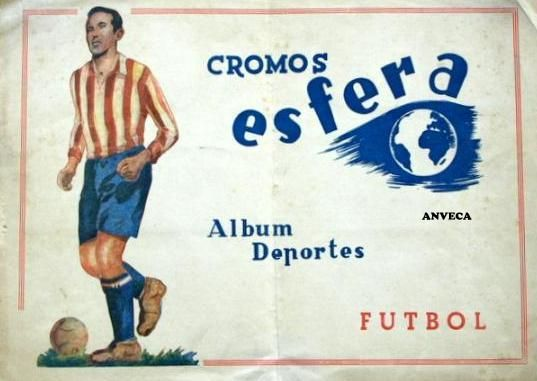 SOBRE CROMOS LIGA - 1942