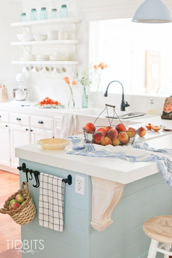 Adventures In Decorating Our Fall Kitchen: Soak In Beauty Of The Harvest In This Fall Time Cottage