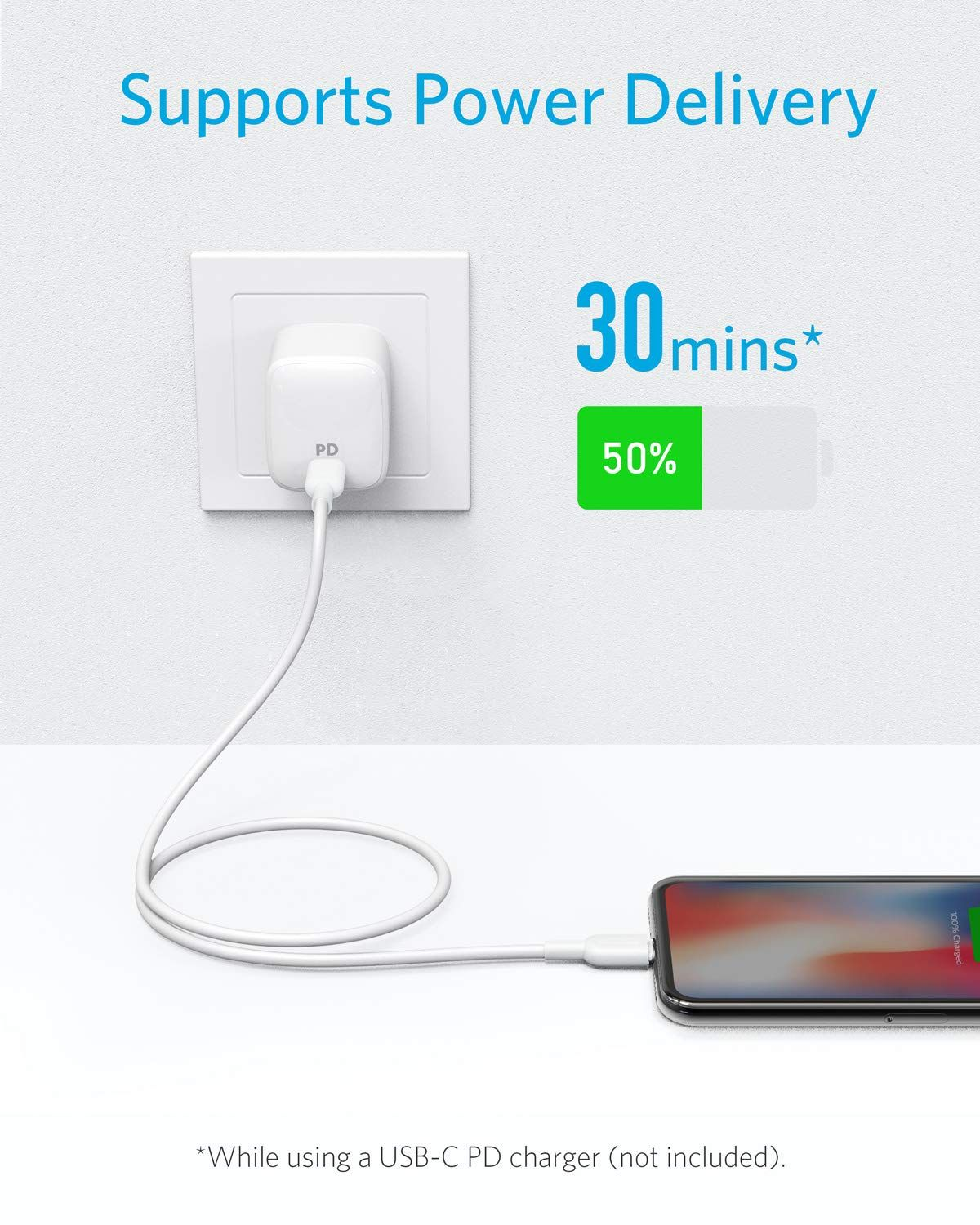 Amazon Com Anker Usb C To Lightning Cable 3ft Apple Mfi