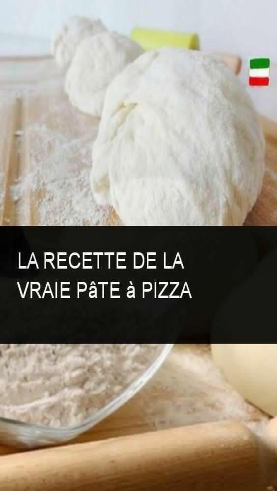 Das Rezept für echten Pizzateig   - Pizza -