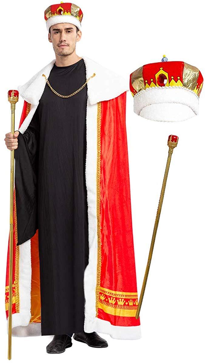 Halloween 2020 Regal Amazon.com: Spooktacular Creations Regal King Royal Robe Halloween