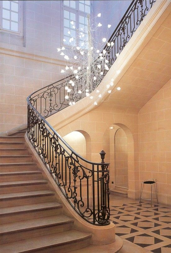 Jogg twisted arm chandelier for large spaces great in large jogg twisted arm chandelier for large spaces great in large stairwells aloadofball Image collections