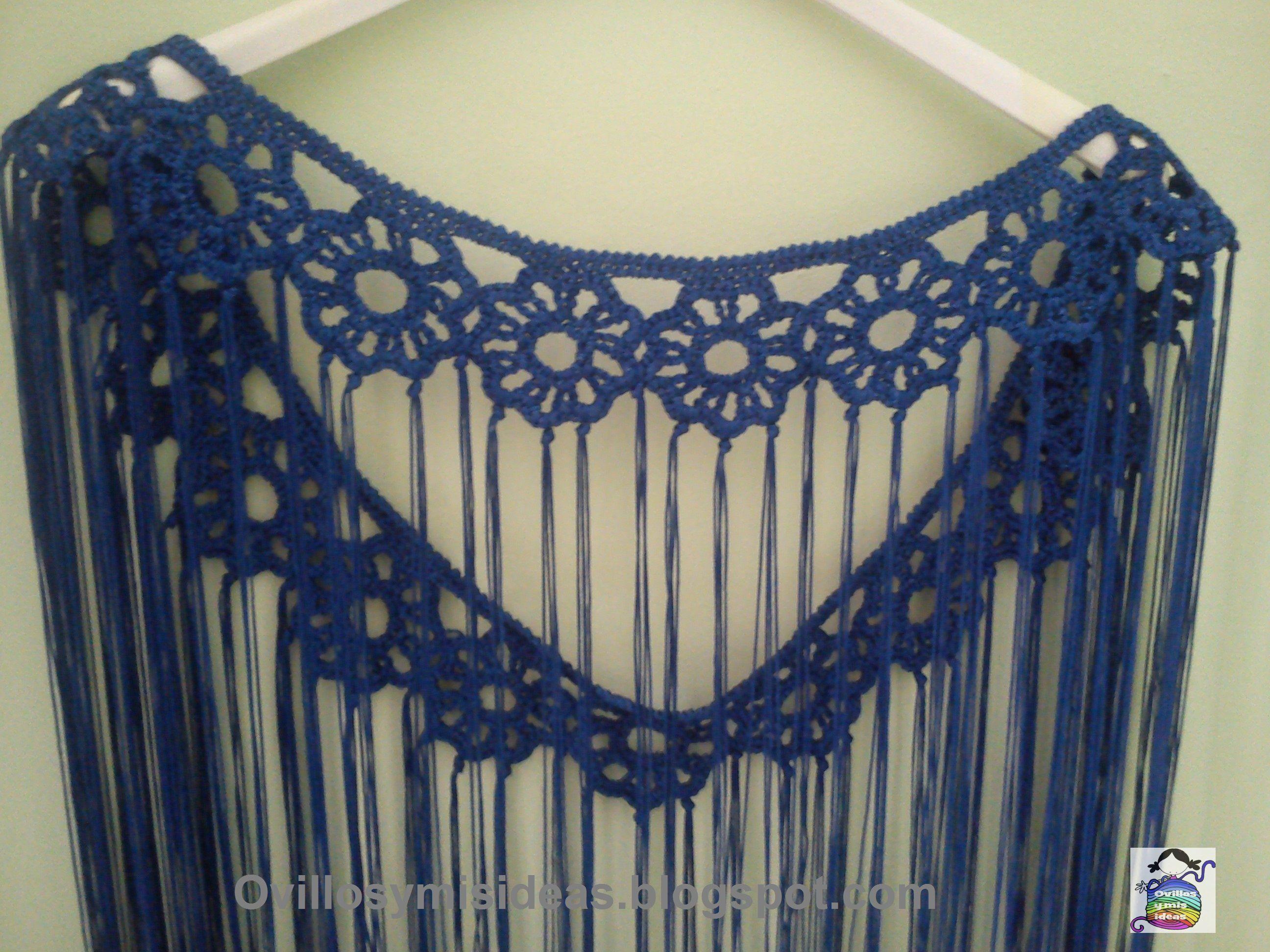 Mantoncillo Flamenca Crochet Con Flecos De Pinterest Yrxw5YqX