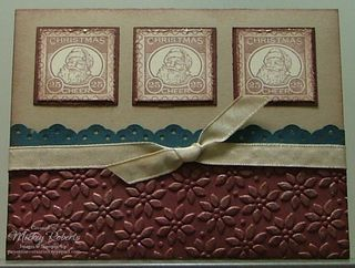 Blog Post Date:  Nov 24, 2009.  Christmas Punch stamp set.