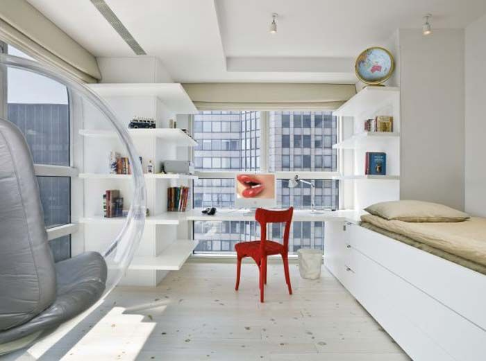 Studio Apartment Decorating Ideas In Manhattan New York Studio