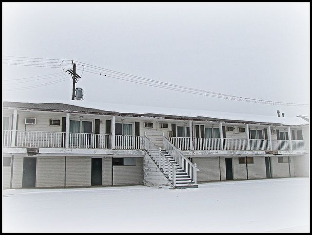 This Vintage Motel Sits Empty In Garnett Kansas