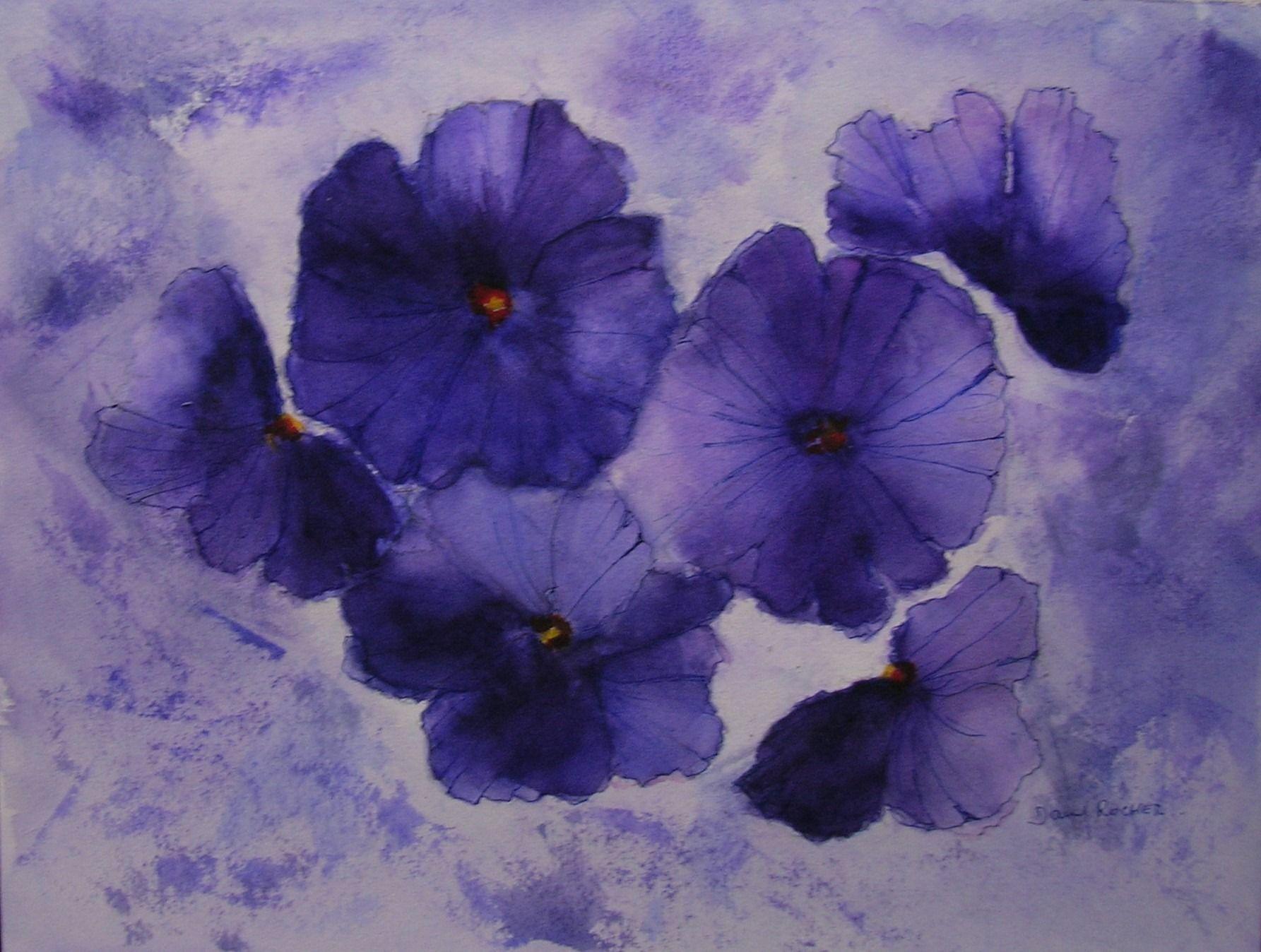 Peinture abstraite secrets acrylique sur toile for Bouquet de fleurs wiki