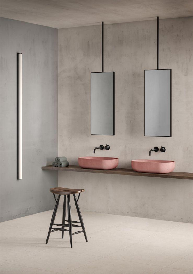 Liefde voor beton-ciré voor in de badkamer | Pinterest | Bäder ...
